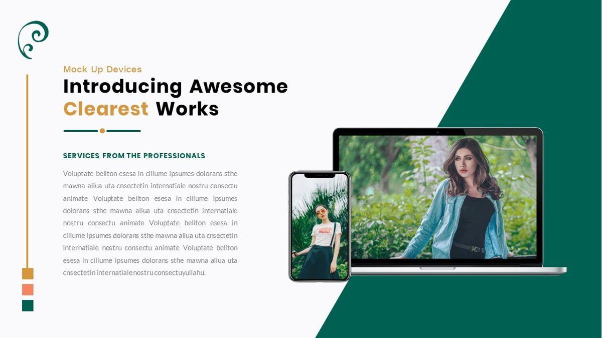 Clearest – Creative Business PowerPoint Template, Slide 25, 06825, Presentation Templates — PoweredTemplate.com