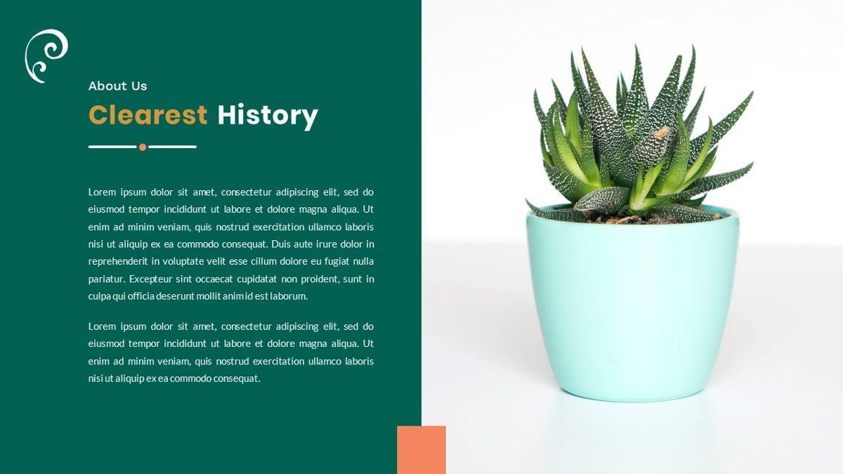 Clearest – Creative Business PowerPoint Template, Slide 3, 06825, Presentation Templates — PoweredTemplate.com