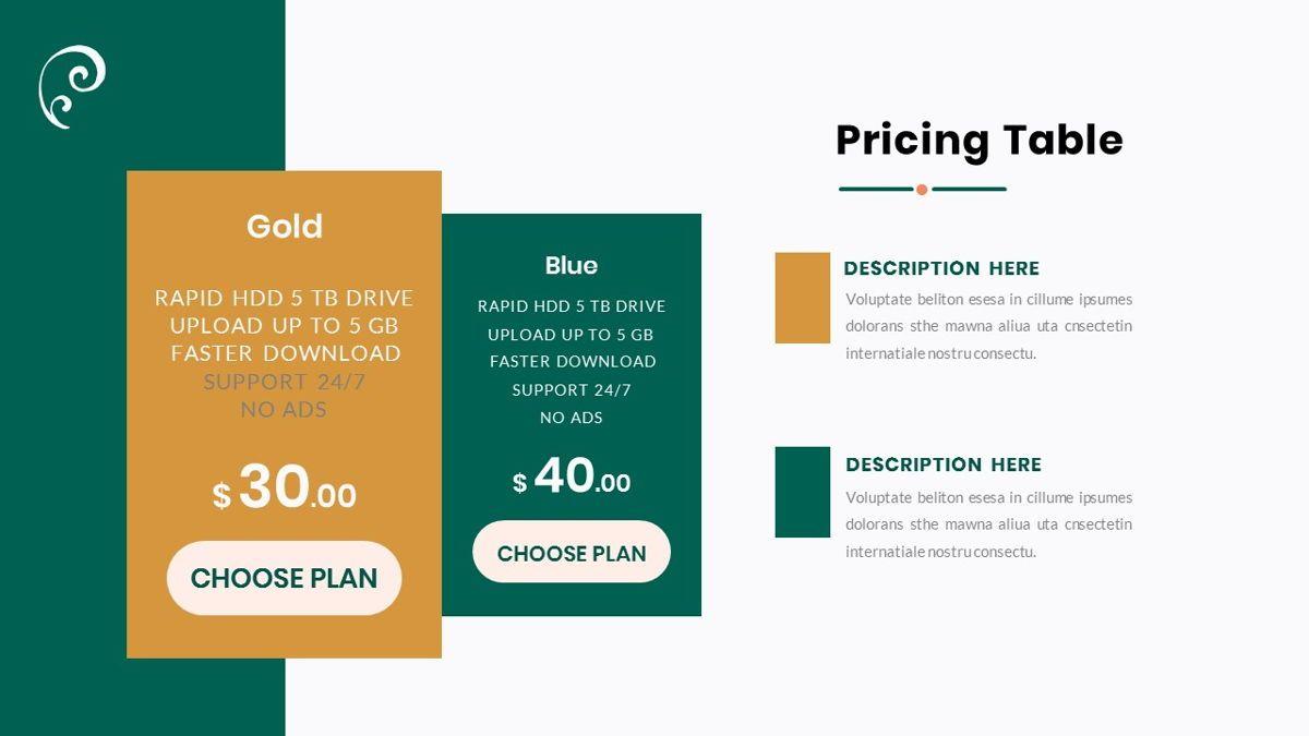 Clearest – Creative Business PowerPoint Template, Slide 33, 06825, Presentation Templates — PoweredTemplate.com