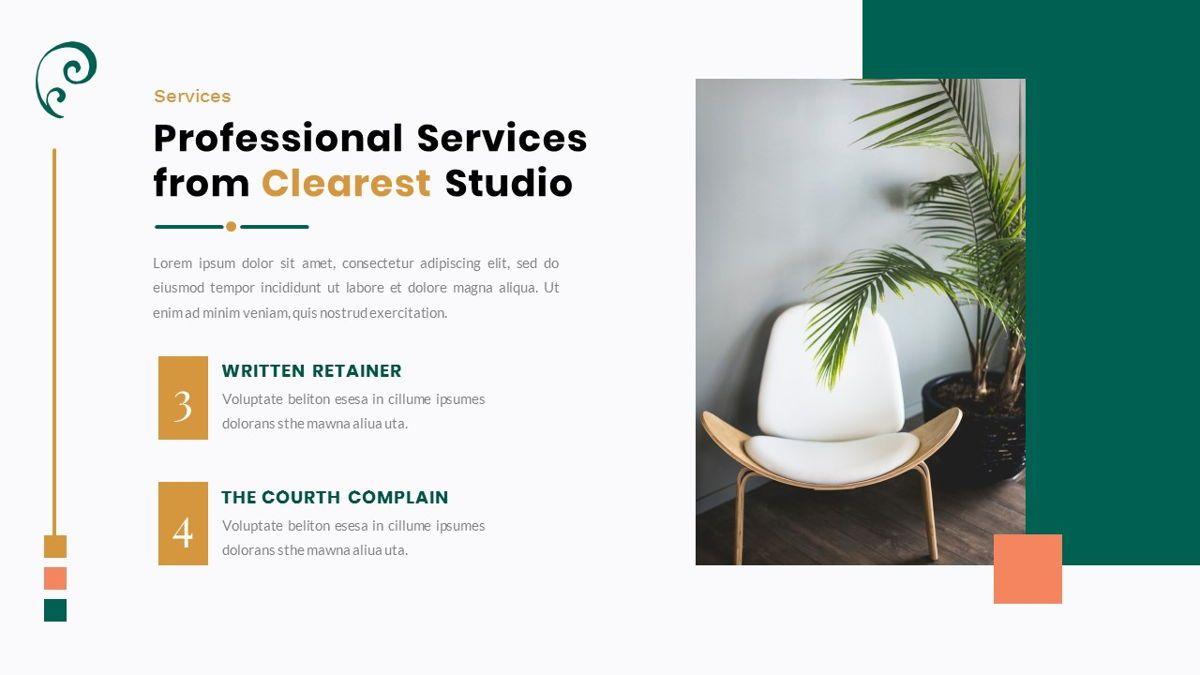 Clearest – Creative Business Google Slides Template, Slide 14, 06826, Presentation Templates — PoweredTemplate.com