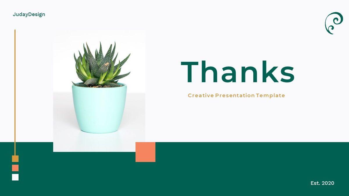 Clearest – Creative Business Google Slides Template, Slide 36, 06826, Presentation Templates — PoweredTemplate.com