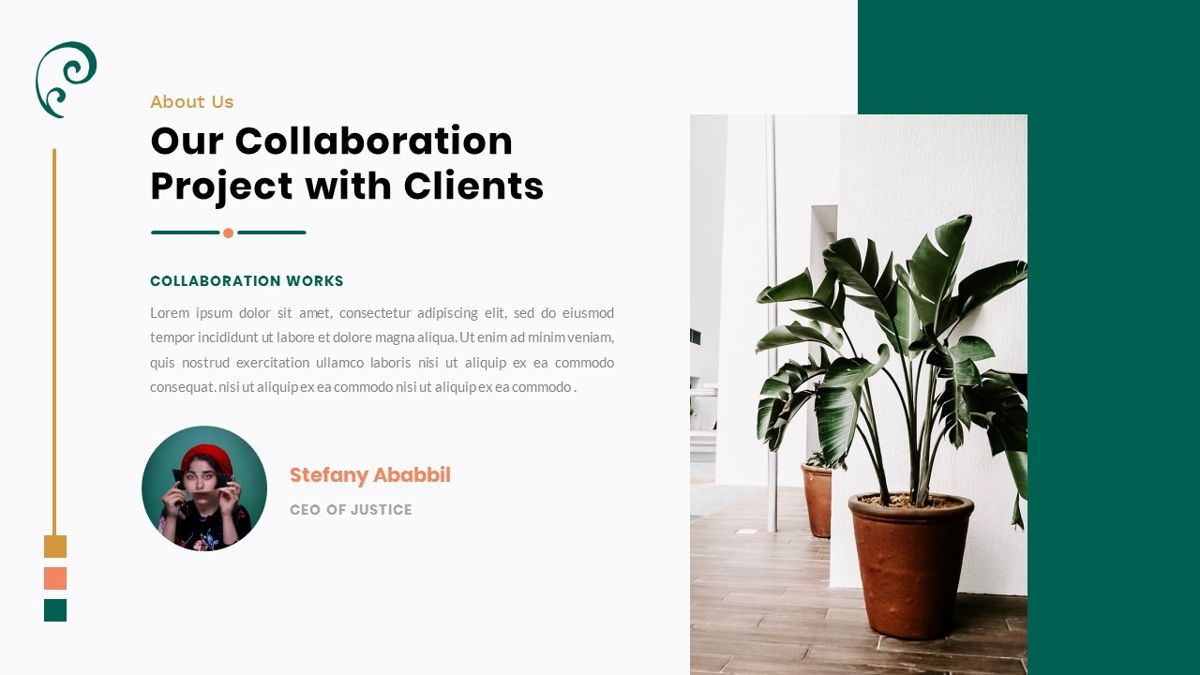 Clearest – Creative Business Google Slides Template, Slide 4, 06826, Presentation Templates — PoweredTemplate.com