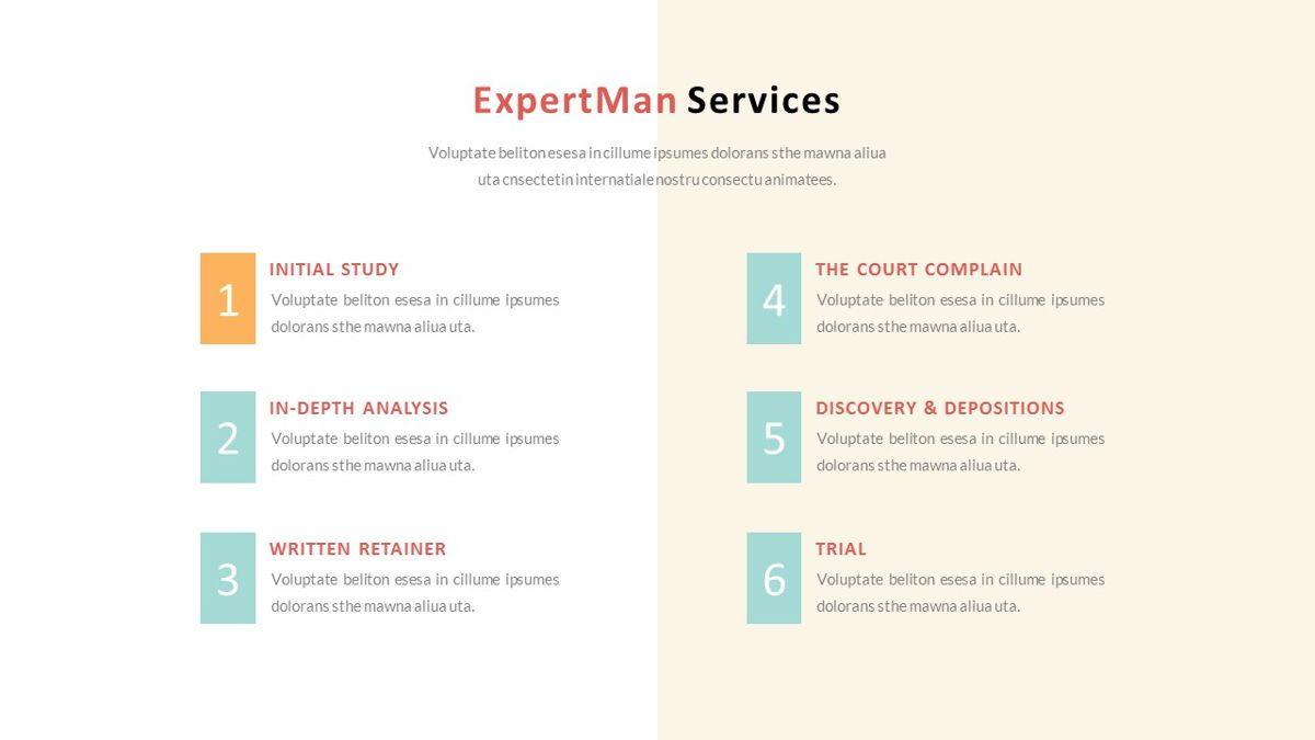 ExpertMan – Creative Pop Art Business PowerPoint Template, Slide 12, 06827, Presentation Templates — PoweredTemplate.com