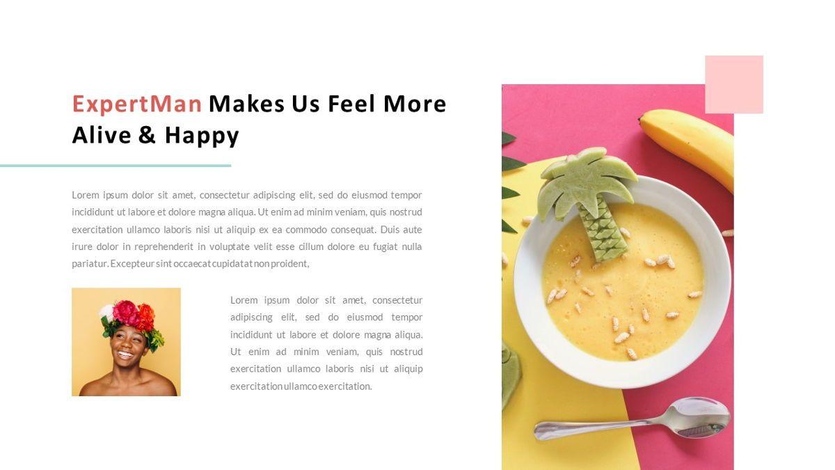 ExpertMan – Creative Pop Art Business PowerPoint Template, Slide 6, 06827, Presentation Templates — PoweredTemplate.com