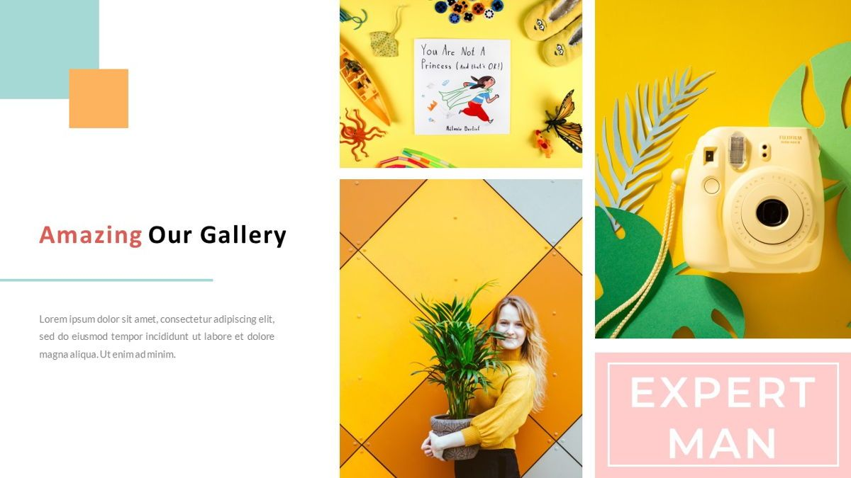 ExpertMan – Creative Pop Art Business Google Slides Template, Slide 20, 06828, Presentation Templates — PoweredTemplate.com