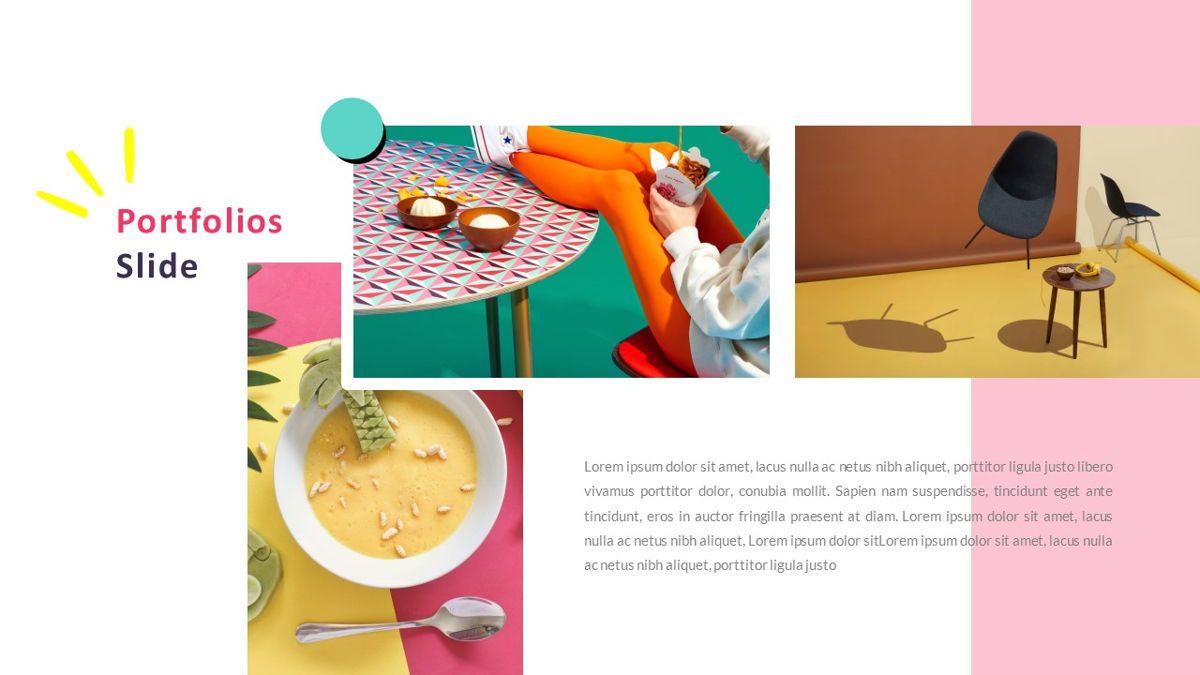 GeoMath – Creative Pop Art Business PowerPoint Template, Slide 19, 06829, Presentation Templates — PoweredTemplate.com
