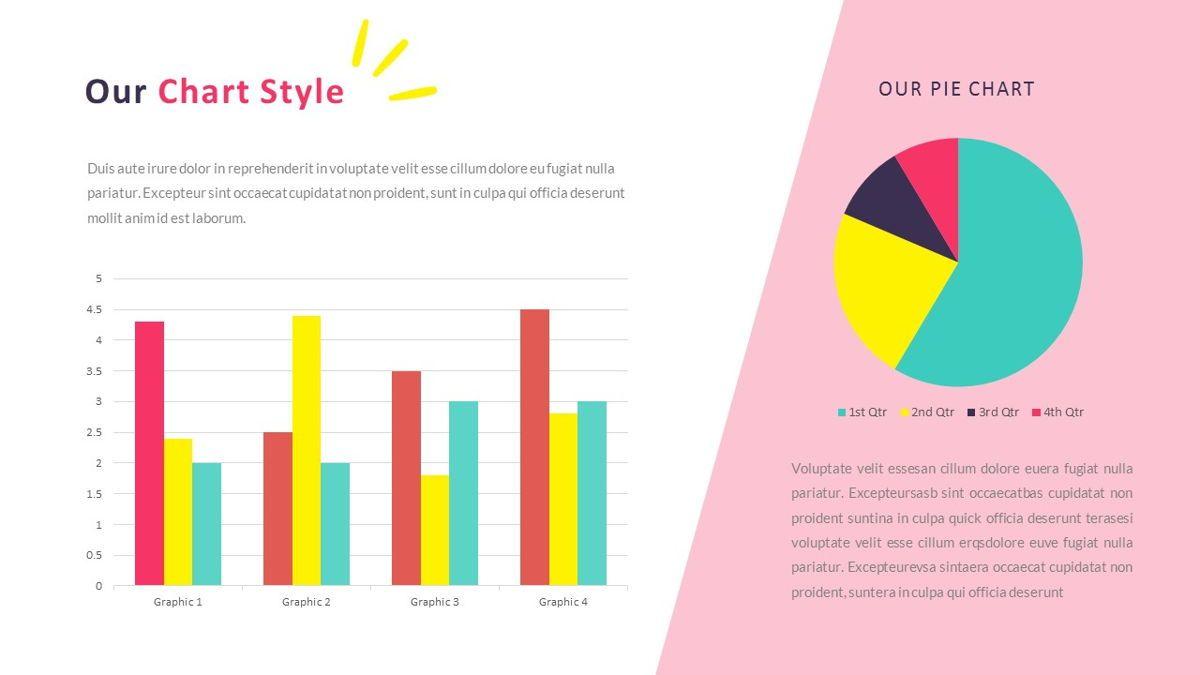 GeoMath – Creative Pop Art Business PowerPoint Template, Slide 31, 06829, Presentation Templates — PoweredTemplate.com