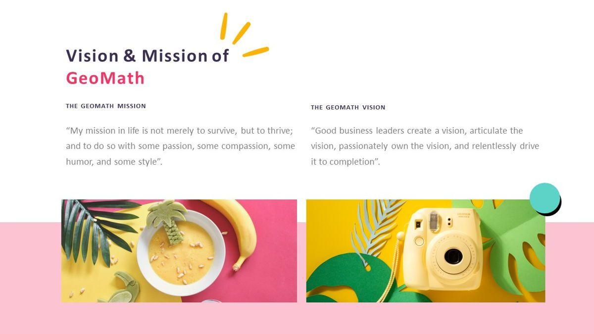 GeoMath – Creative Pop Art Business Google Slides Template, Slide 4, 06830, Presentation Templates — PoweredTemplate.com