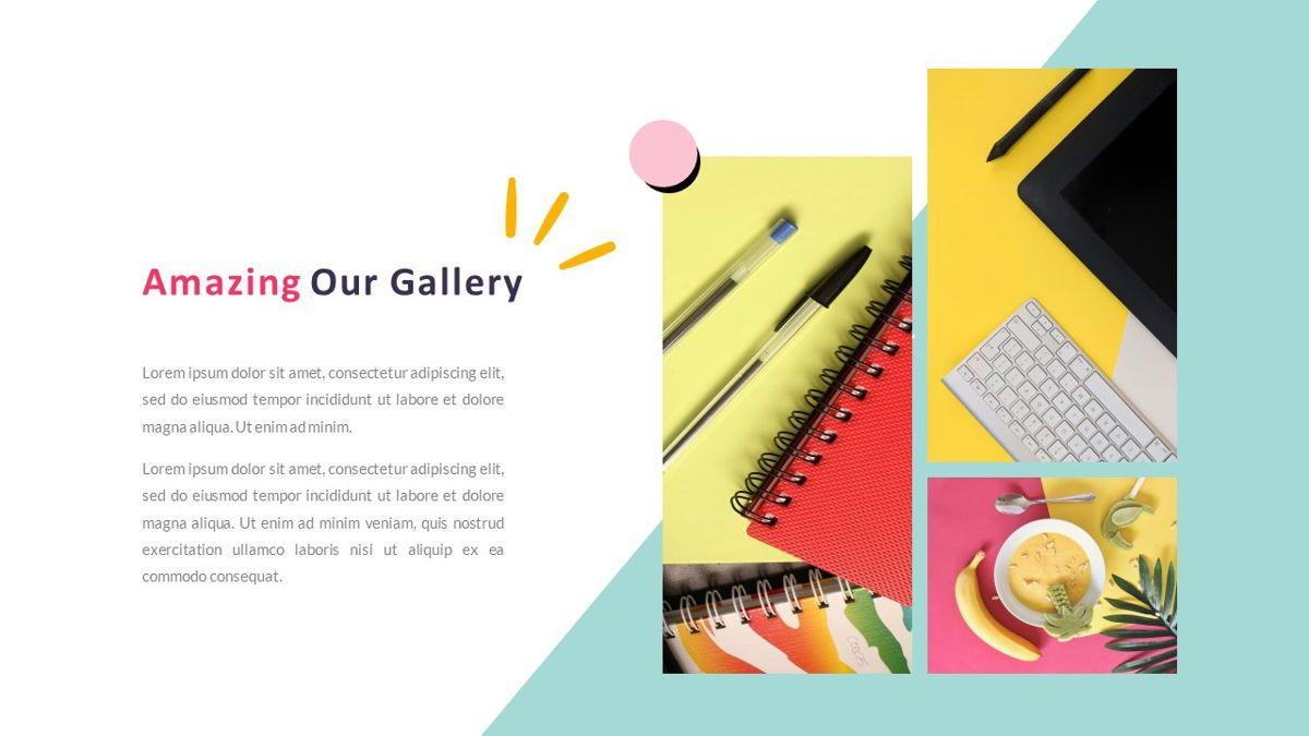 GeoMath – Creative Pop Art Business Keynote Template, Slide 20, 06831, Presentation Templates — PoweredTemplate.com