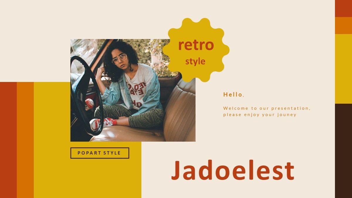 Jadoelest – Creative Vintage Business PowerPoint Template, 06832, Presentation Templates — PoweredTemplate.com