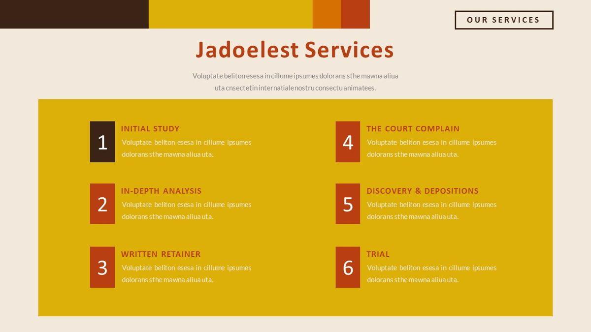 Jadoelest – Creative Vintage Business PowerPoint Template, Slide 12, 06832, Presentation Templates — PoweredTemplate.com