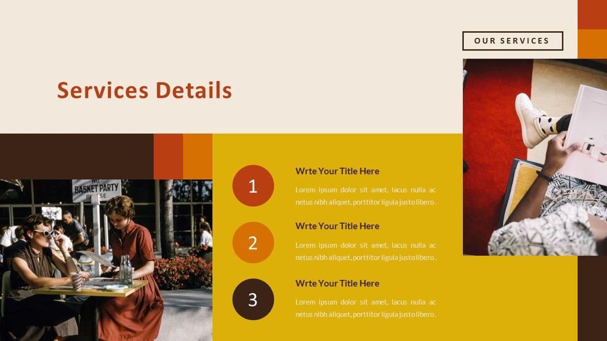 Jadoelest – Creative Vintage Business PowerPoint Template, Slide 15, 06832, Presentation Templates — PoweredTemplate.com