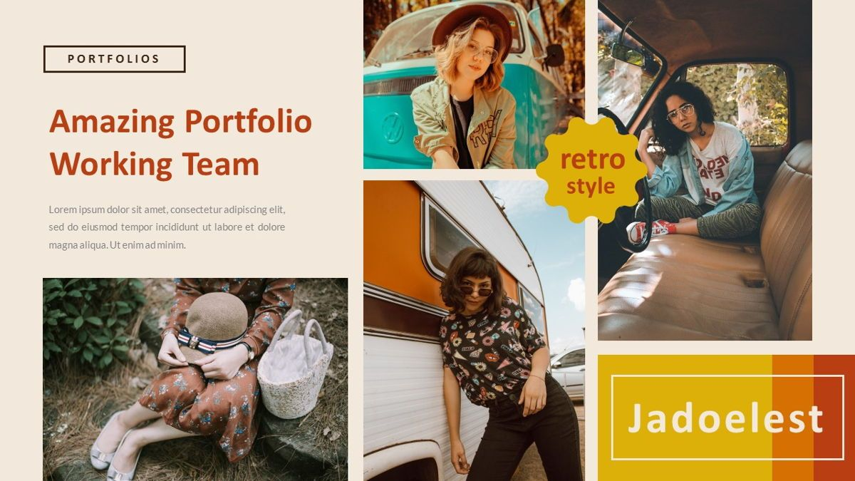 Jadoelest – Creative Vintage Business PowerPoint Template, Slide 18, 06832, Presentation Templates — PoweredTemplate.com