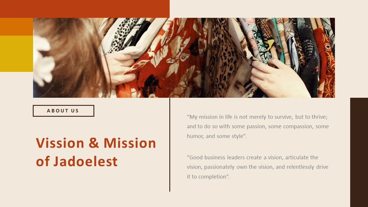 Jadoelest – Creative Vintage Business PowerPoint Template, Slide 4, 06832, Presentation Templates — PoweredTemplate.com