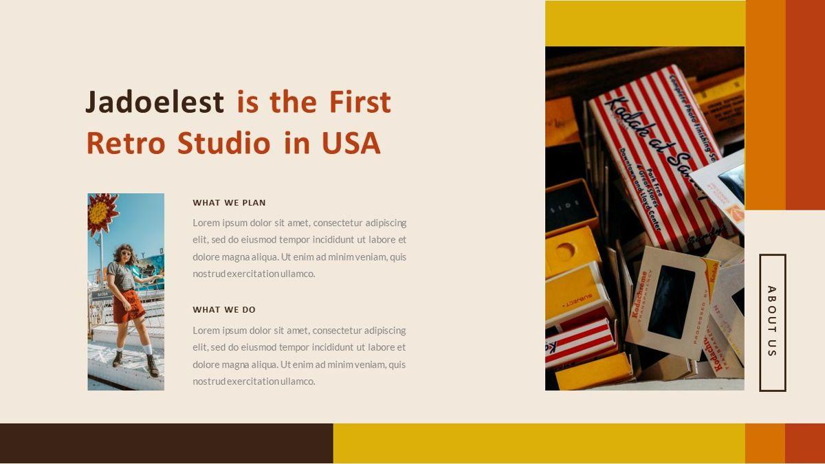 Jadoelest – Creative Vintage Business PowerPoint Template, Slide 7, 06832, Presentation Templates — PoweredTemplate.com