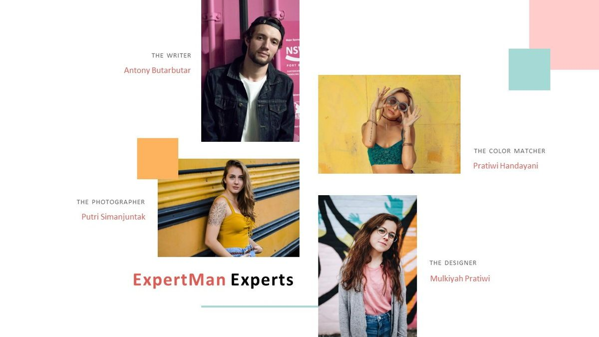 ExpertMan – Creative Pop Art Business Keynote Template, Slide 10, 06833, Presentation Templates — PoweredTemplate.com