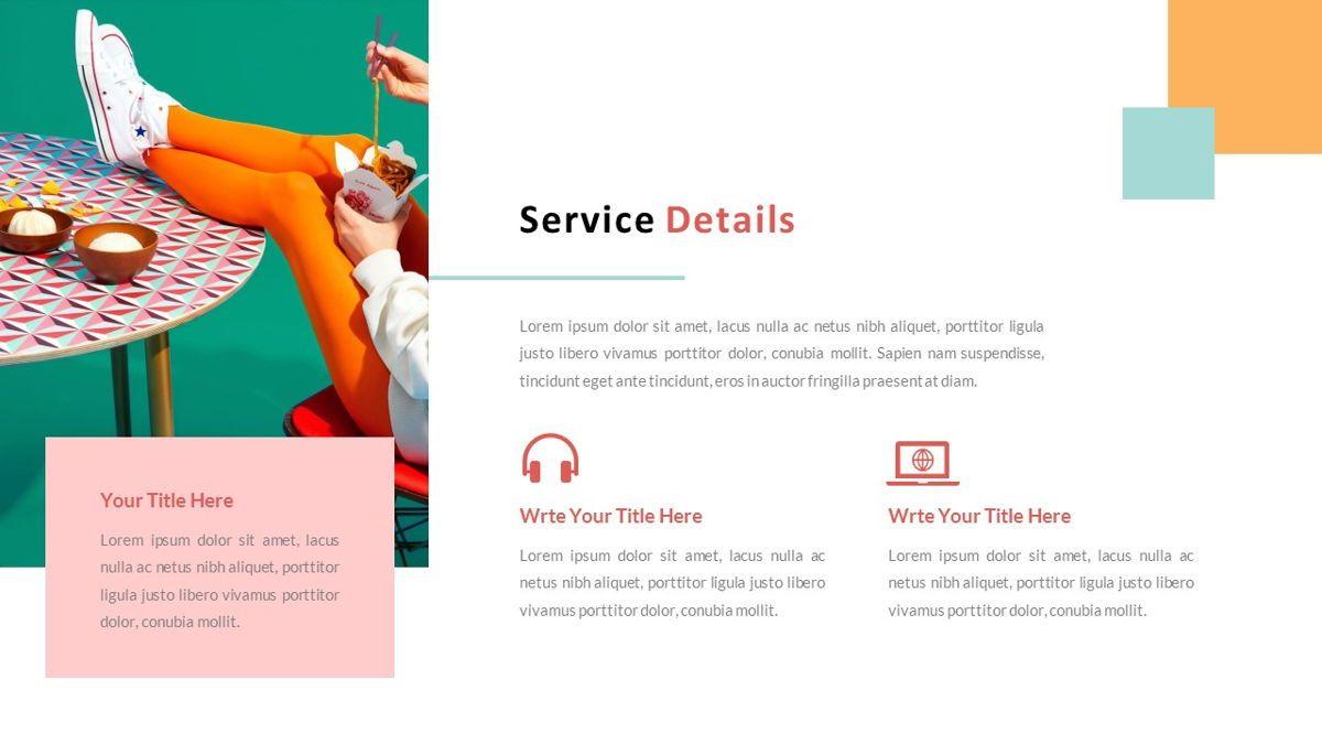ExpertMan – Creative Pop Art Business Keynote Template, Slide 13, 06833, Presentation Templates — PoweredTemplate.com
