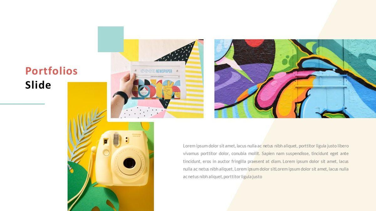 ExpertMan – Creative Pop Art Business Keynote Template, Slide 18, 06833, Presentation Templates — PoweredTemplate.com