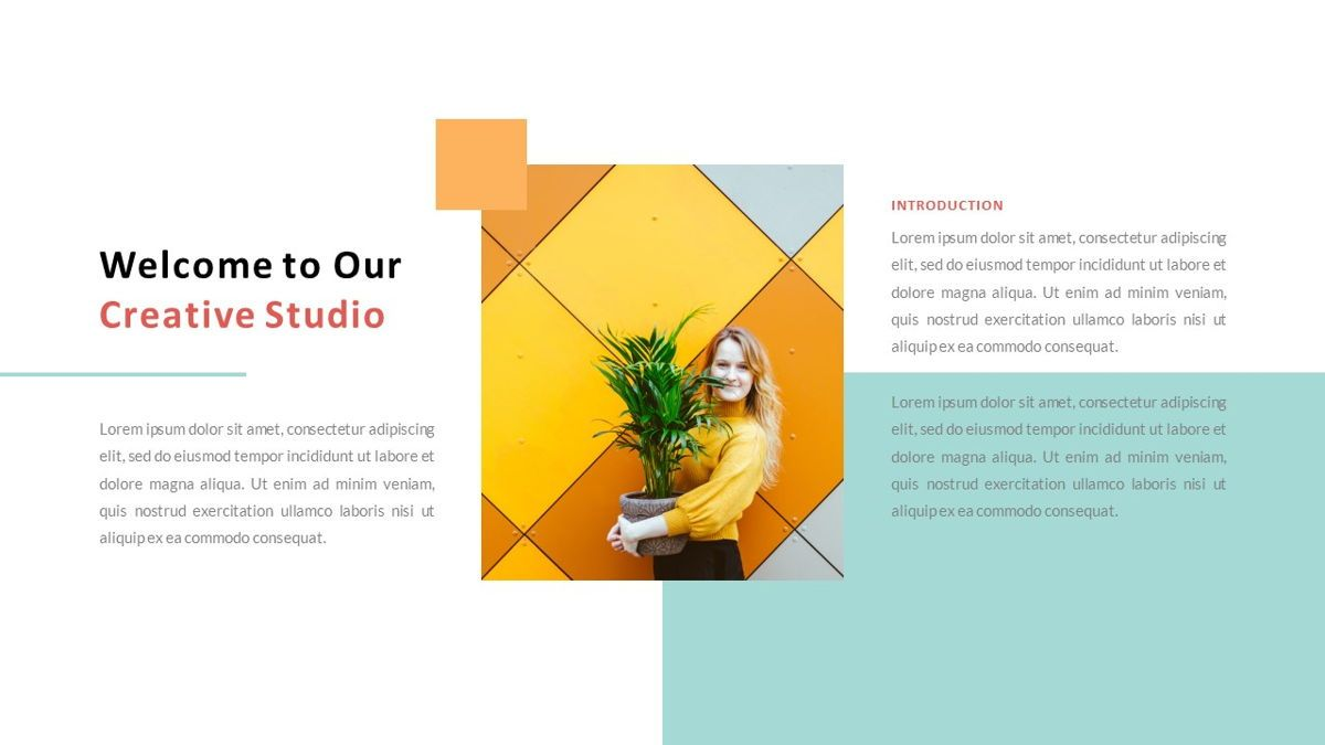 ExpertMan – Creative Pop Art Business Keynote Template, Slide 2, 06833, Presentation Templates — PoweredTemplate.com