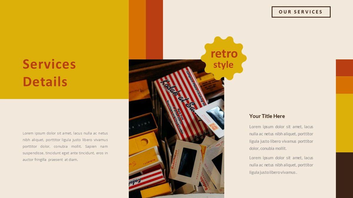 Jadoelest – Creative Vintage Business Keynote Template, Slide 13, 06834, Presentation Templates — PoweredTemplate.com