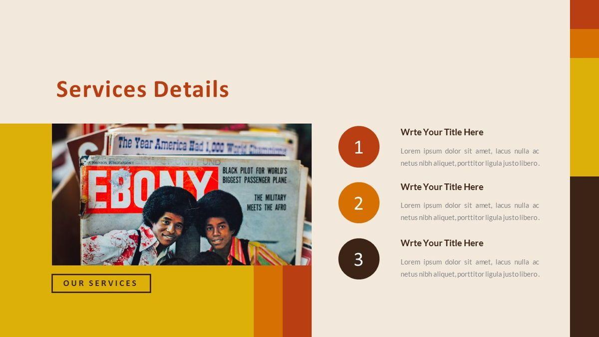 Jadoelest – Creative Vintage Business Keynote Template, Slide 16, 06834, Presentation Templates — PoweredTemplate.com
