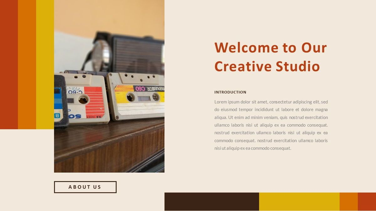 Jadoelest – Creative Vintage Business Keynote Template, Slide 2, 06834, Presentation Templates — PoweredTemplate.com