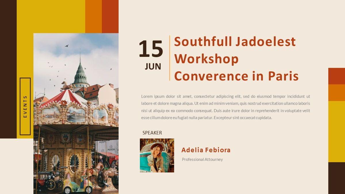 Jadoelest – Creative Vintage Business Keynote Template, Slide 23, 06834, Presentation Templates — PoweredTemplate.com