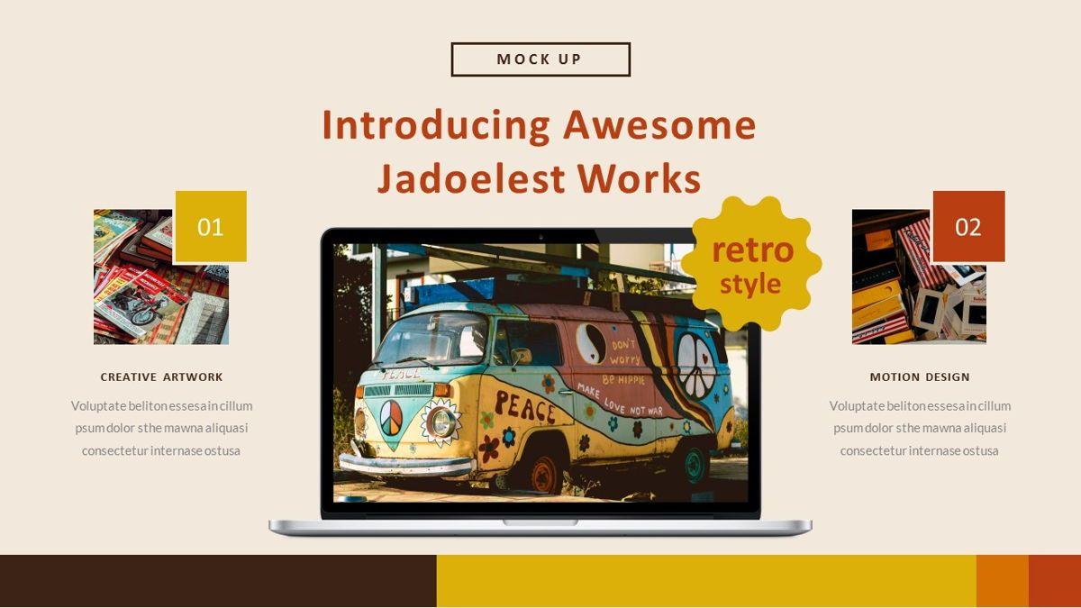 Jadoelest – Creative Vintage Business Keynote Template, Slide 24, 06834, Presentation Templates — PoweredTemplate.com