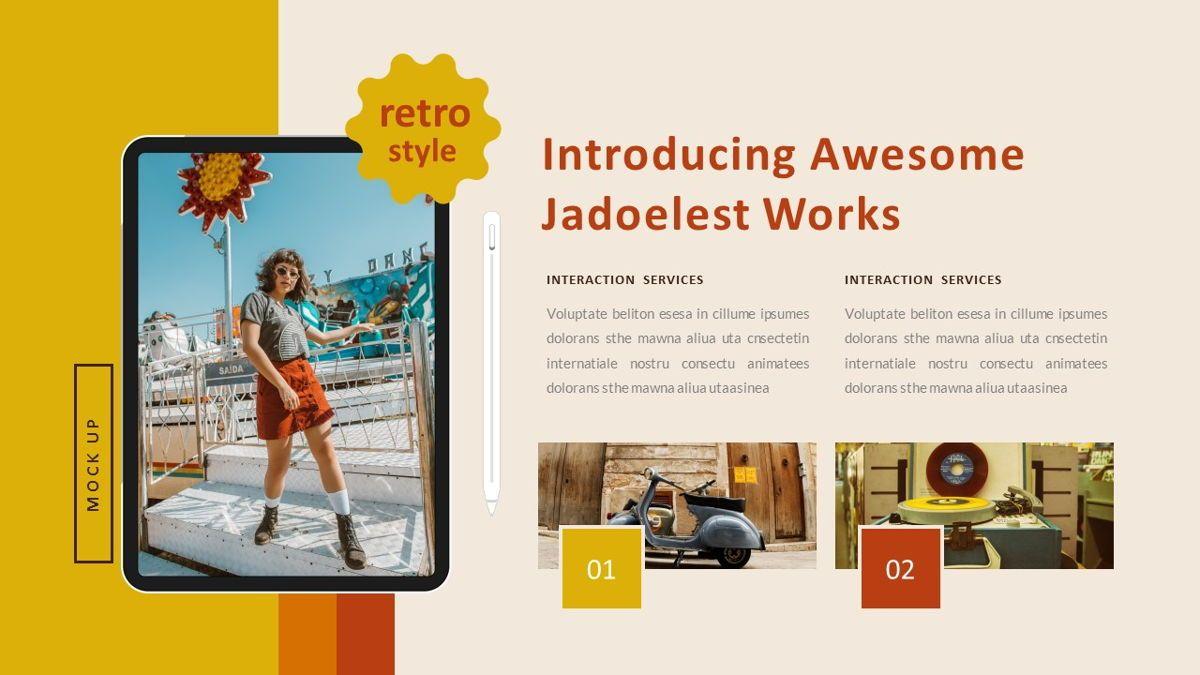Jadoelest – Creative Vintage Business Keynote Template, Slide 26, 06834, Presentation Templates — PoweredTemplate.com
