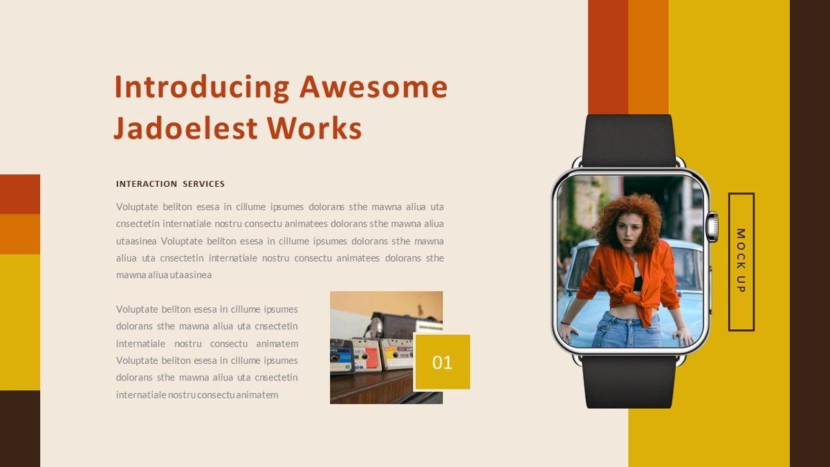 Jadoelest – Creative Vintage Business Keynote Template, Slide 27, 06834, Presentation Templates — PoweredTemplate.com