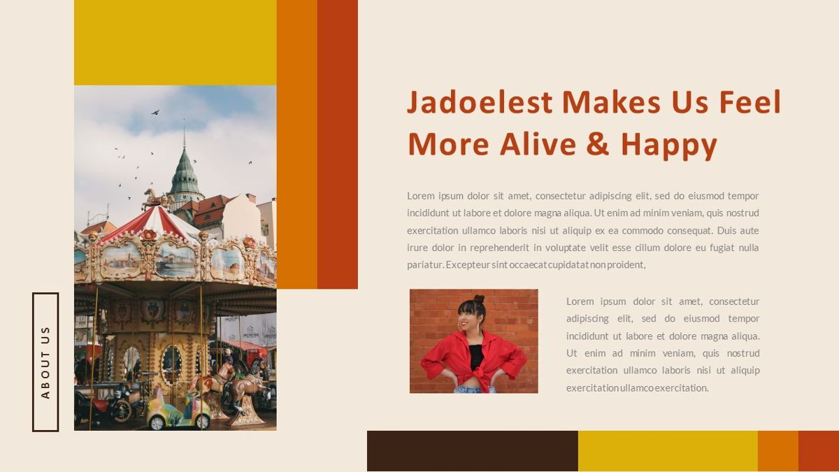 Jadoelest – Creative Vintage Business Keynote Template, Slide 5, 06834, Presentation Templates — PoweredTemplate.com