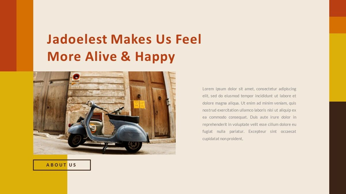 Jadoelest – Creative Vintage Business Keynote Template, Slide 6, 06834, Presentation Templates — PoweredTemplate.com