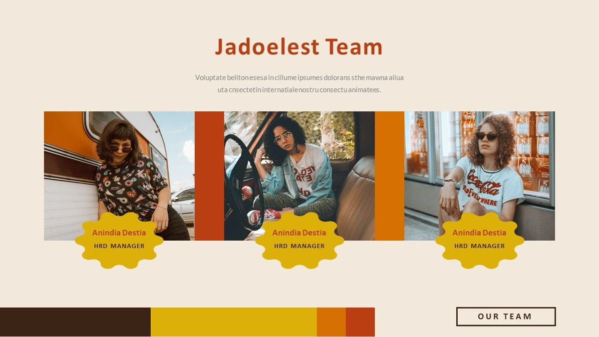 Jadoelest – Creative Vintage Business Keynote Template, Slide 8, 06834, Presentation Templates — PoweredTemplate.com