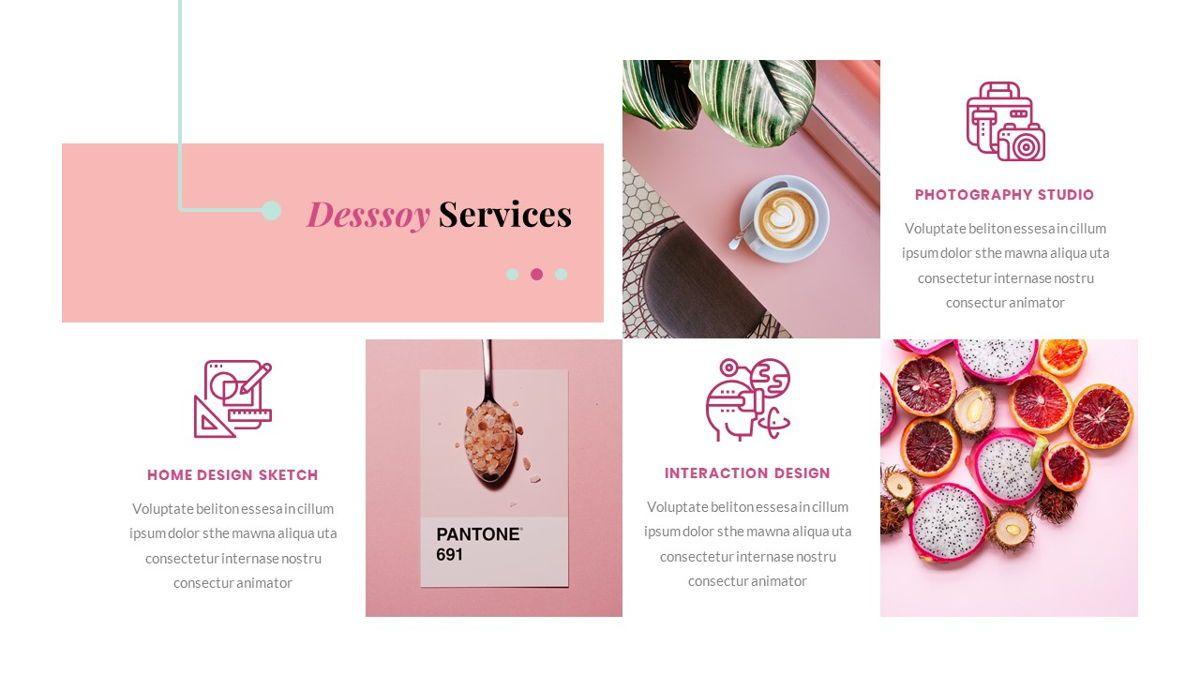 Desssoy – Creative Business Google Slides Template, Slide 21, 06838, Presentation Templates — PoweredTemplate.com