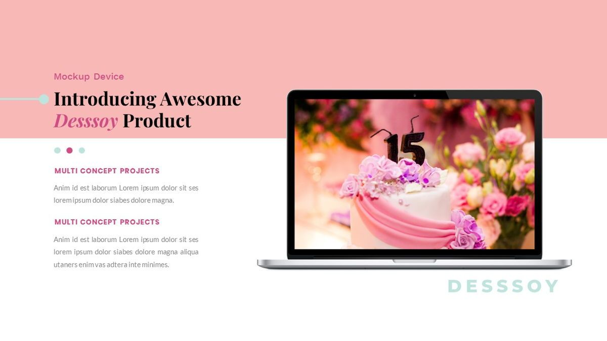 Desssoy – Creative Business Google Slides Template, Slide 34, 06838, Presentation Templates — PoweredTemplate.com