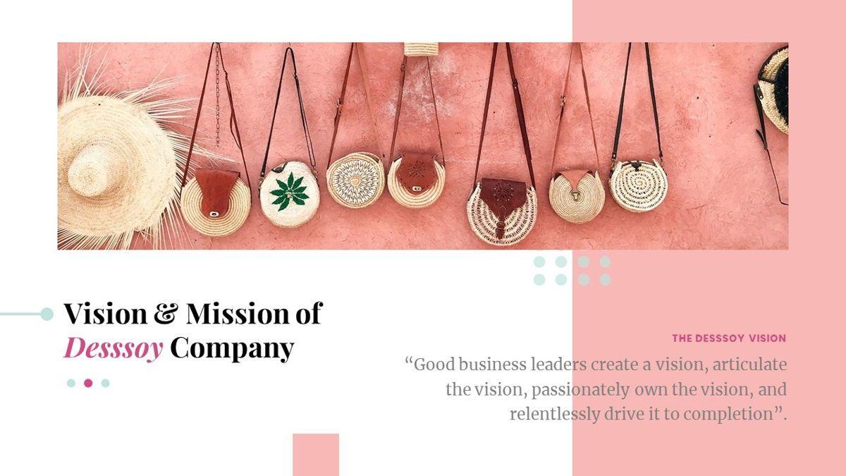 Desssoy – Creative Business Google Slides Template, Slide 5, 06838, Presentation Templates — PoweredTemplate.com