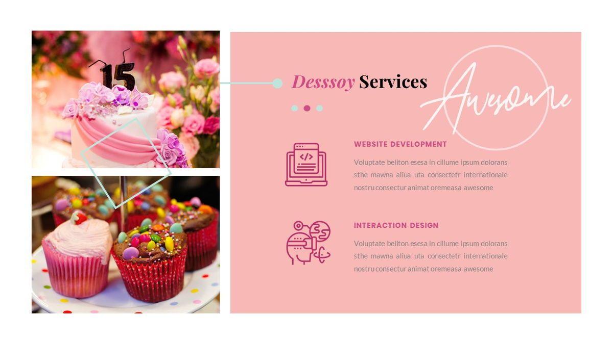 Desssoy – Creative Business Elegant Keynote Template, Slide 19, 06839, Presentation Templates — PoweredTemplate.com
