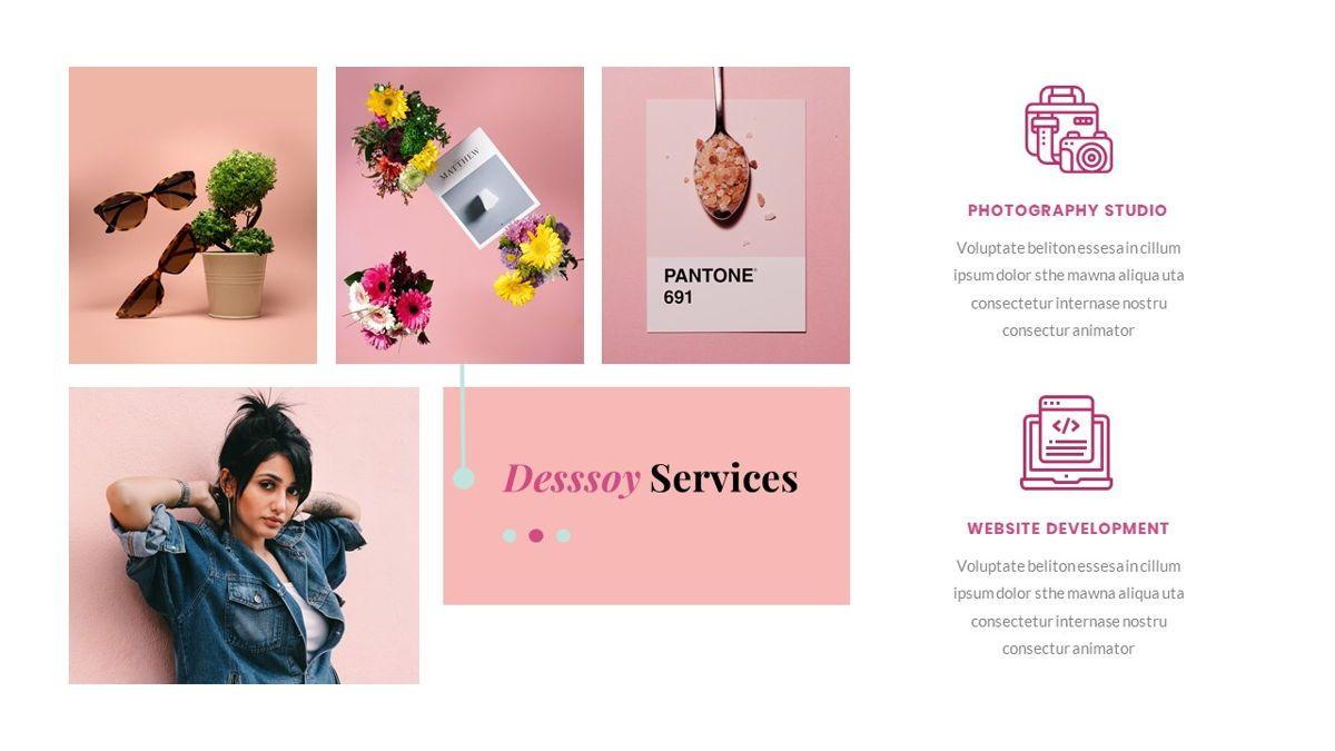 Desssoy – Creative Business Elegant Keynote Template, Slide 20, 06839, Presentation Templates — PoweredTemplate.com