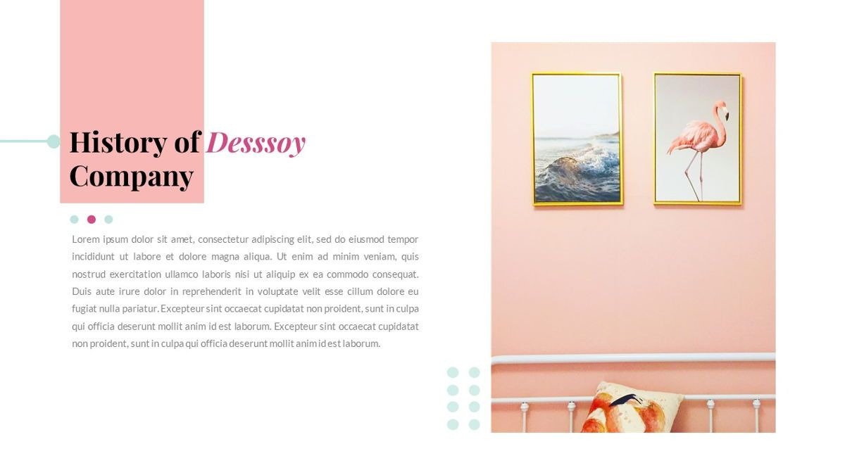 Desssoy – Creative Business Elegant Keynote Template, Slide 3, 06839, Presentation Templates — PoweredTemplate.com