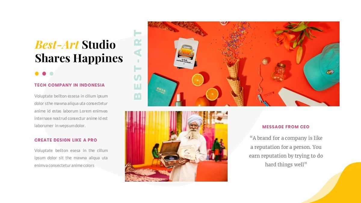 Best-Part – Creative Business PowerPoint Template, Slide 10, 06840, Presentation Templates — PoweredTemplate.com