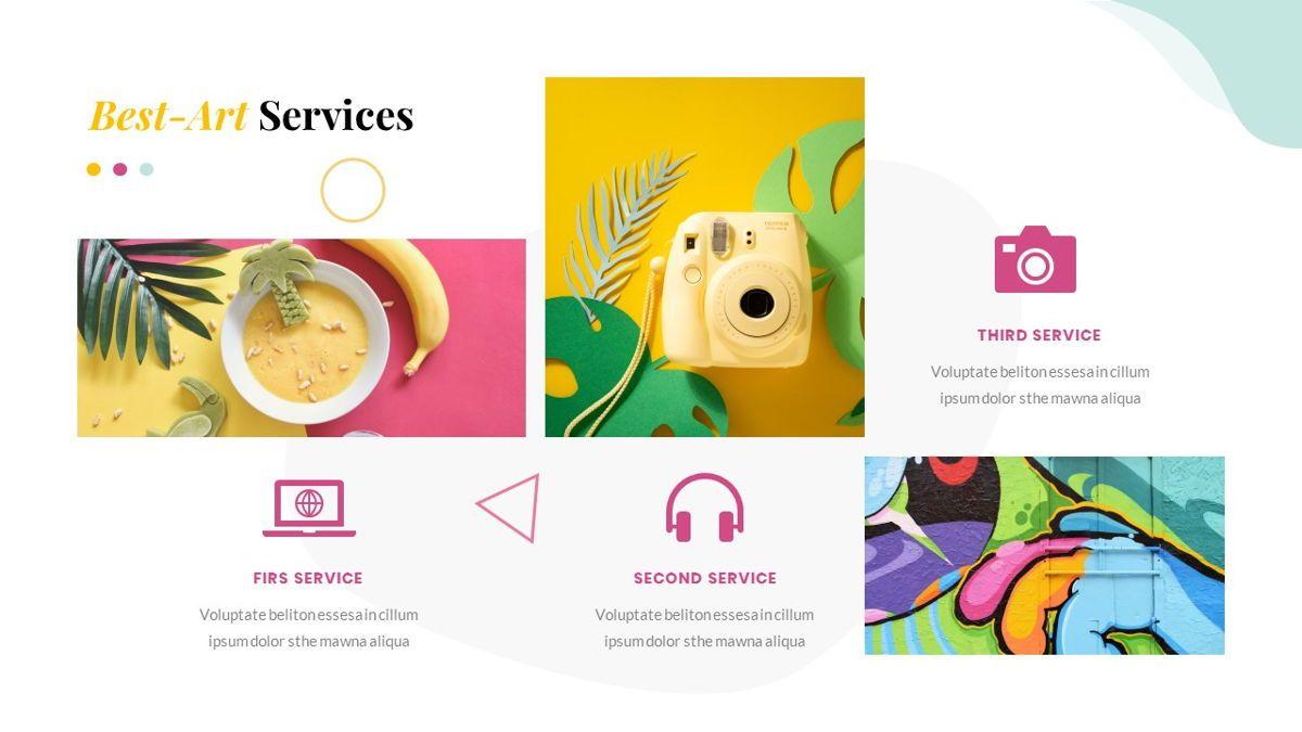 Best-Part – Creative Business PowerPoint Template, Slide 19, 06840, Presentation Templates — PoweredTemplate.com