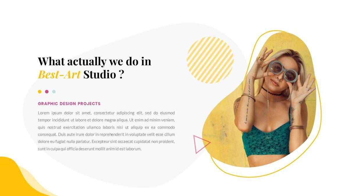 Best-Part – Creative Business PowerPoint Template, Slide 4, 06840, Presentation Templates — PoweredTemplate.com