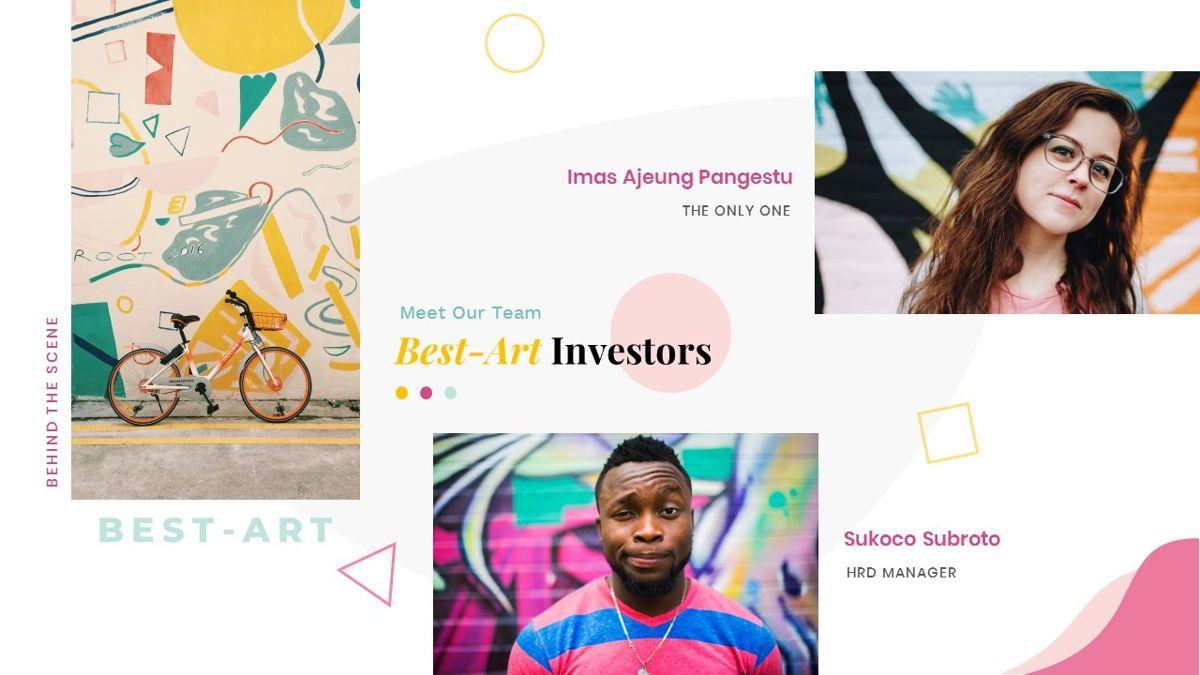 Best-Part – Creative Business Pop Art Keynote Template, Slide 12, 06841, Presentation Templates — PoweredTemplate.com