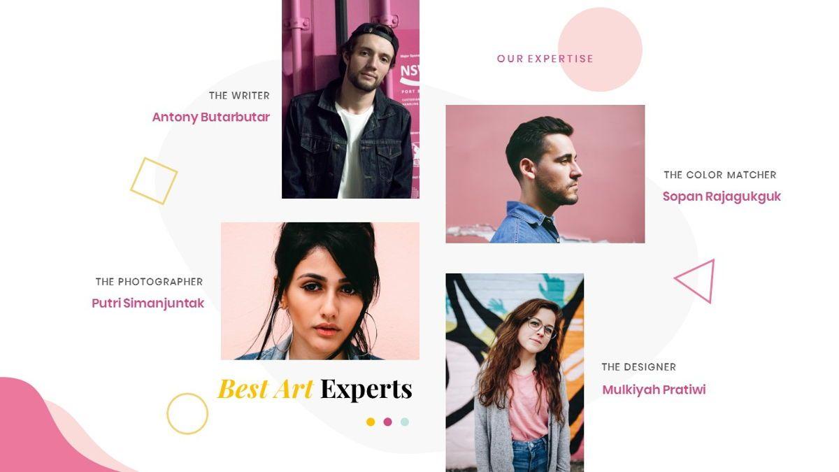Best-Part – Creative Business Pop Art Keynote Template, Slide 14, 06841, Presentation Templates — PoweredTemplate.com