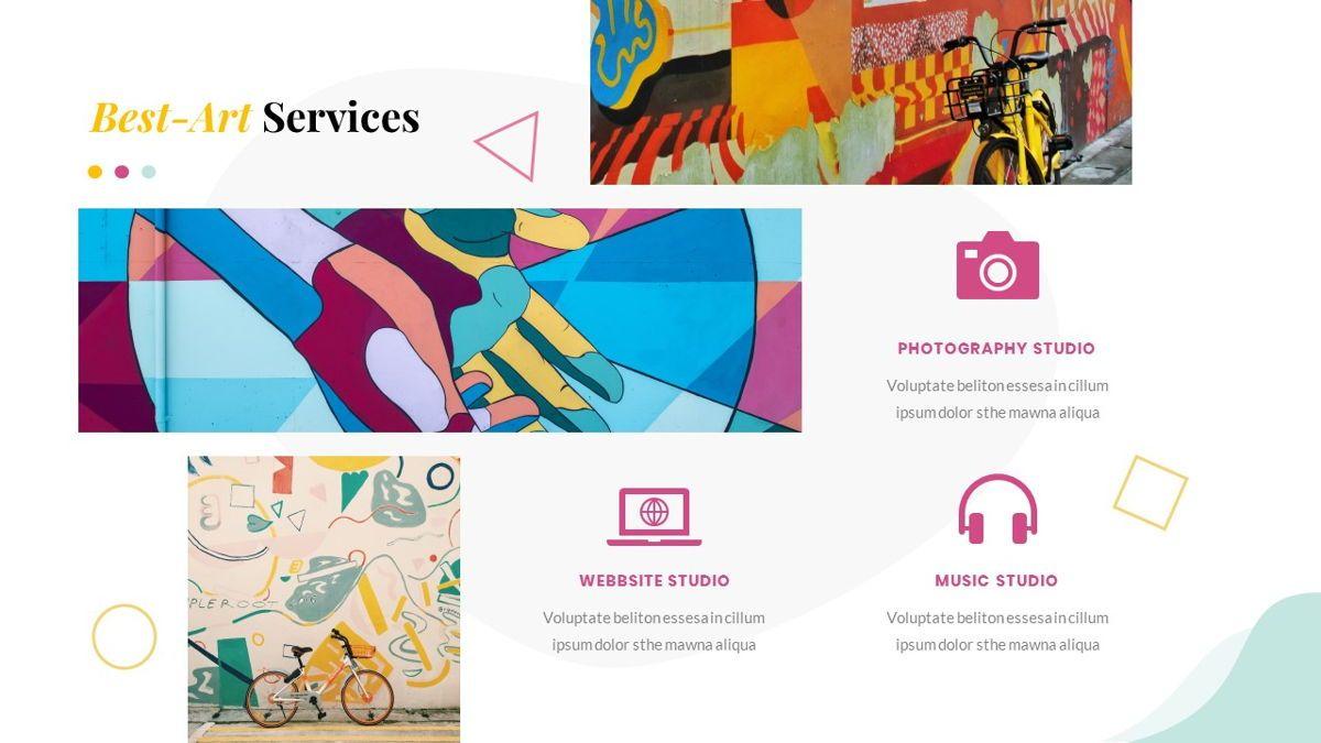 Best-Part – Creative Business Pop Art Keynote Template, Slide 20, 06841, Presentation Templates — PoweredTemplate.com