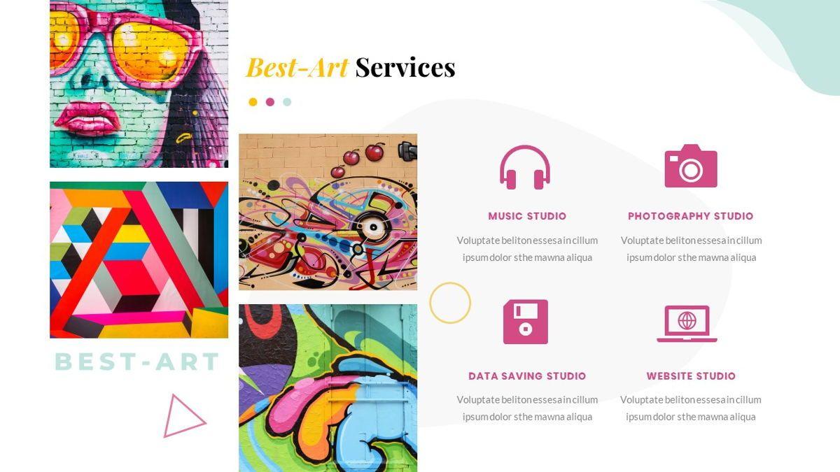 Best-Part – Creative Business Pop Art Keynote Template, Slide 21, 06841, Presentation Templates — PoweredTemplate.com