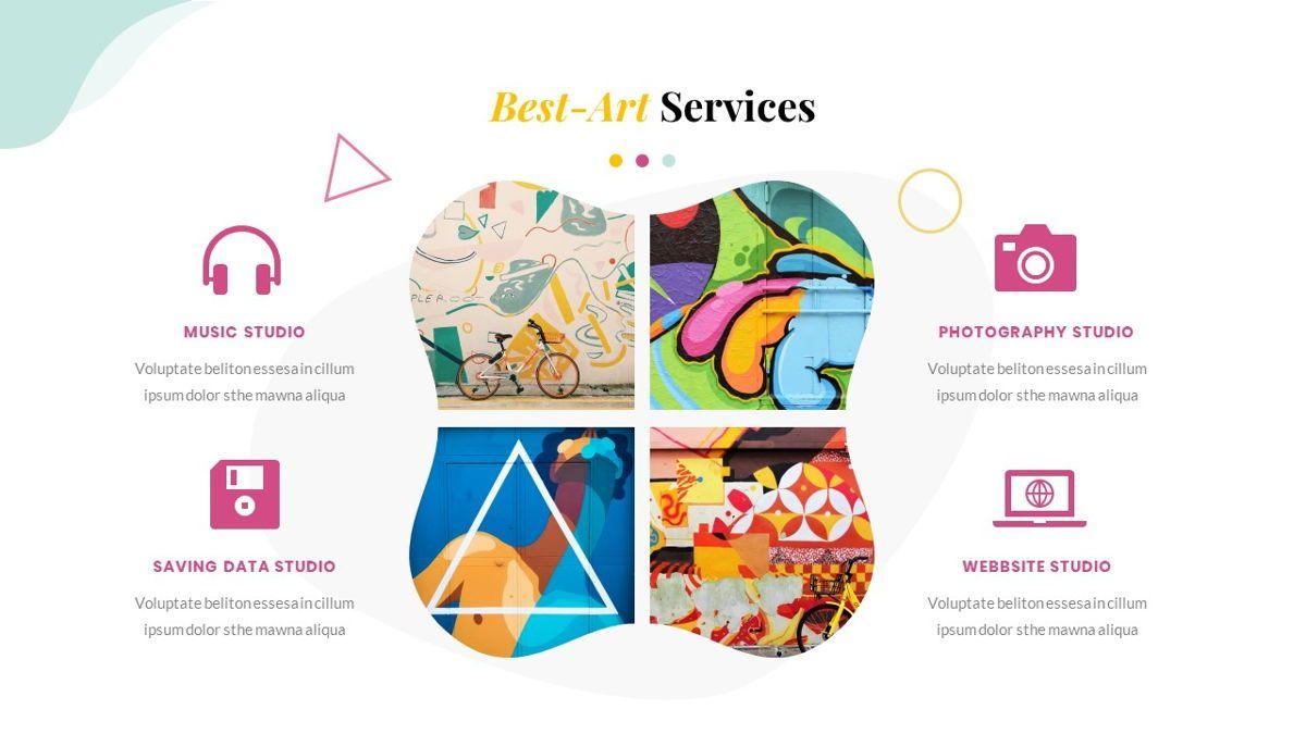 Best-Part – Creative Business Pop Art Keynote Template, Slide 22, 06841, Presentation Templates — PoweredTemplate.com