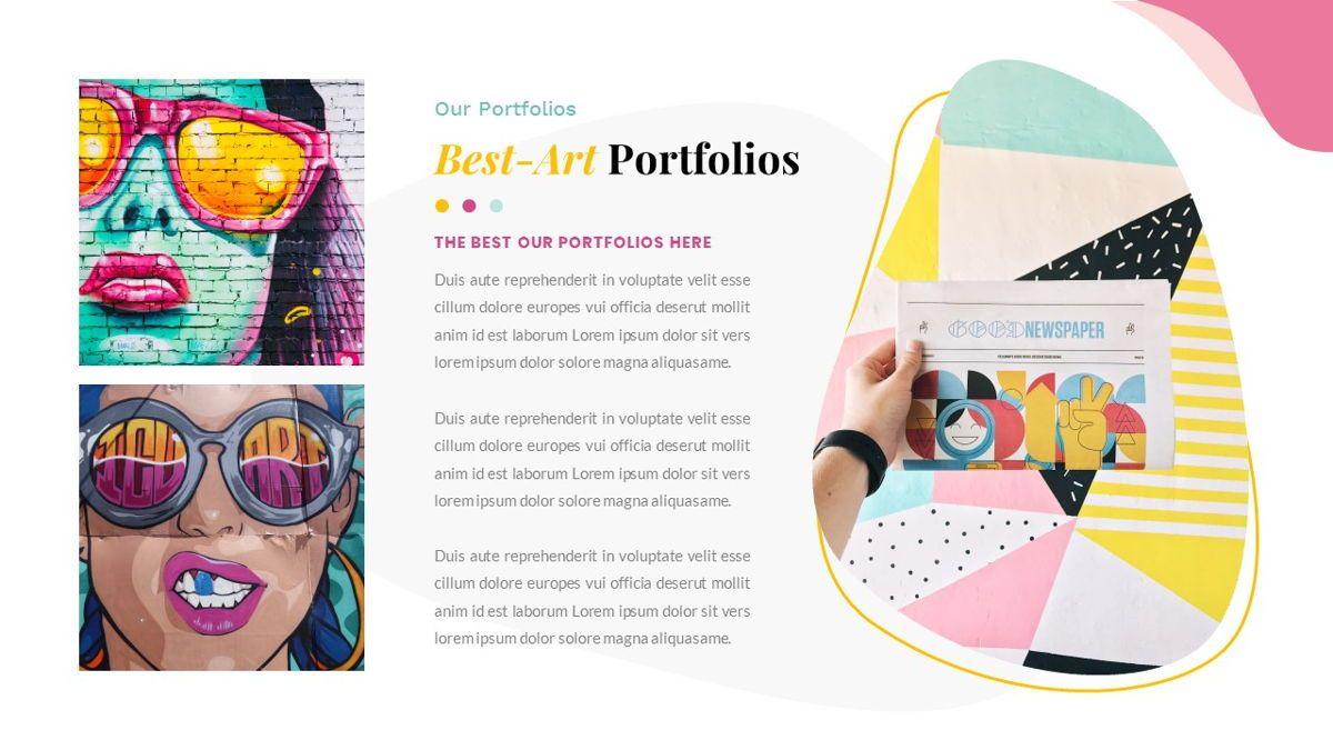 Best-Part – Creative Business Pop Art Keynote Template, Slide 24, 06841, Presentation Templates — PoweredTemplate.com