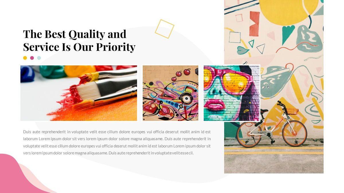 Best-Part – Creative Business Pop Art Keynote Template, Slide 25, 06841, Presentation Templates — PoweredTemplate.com