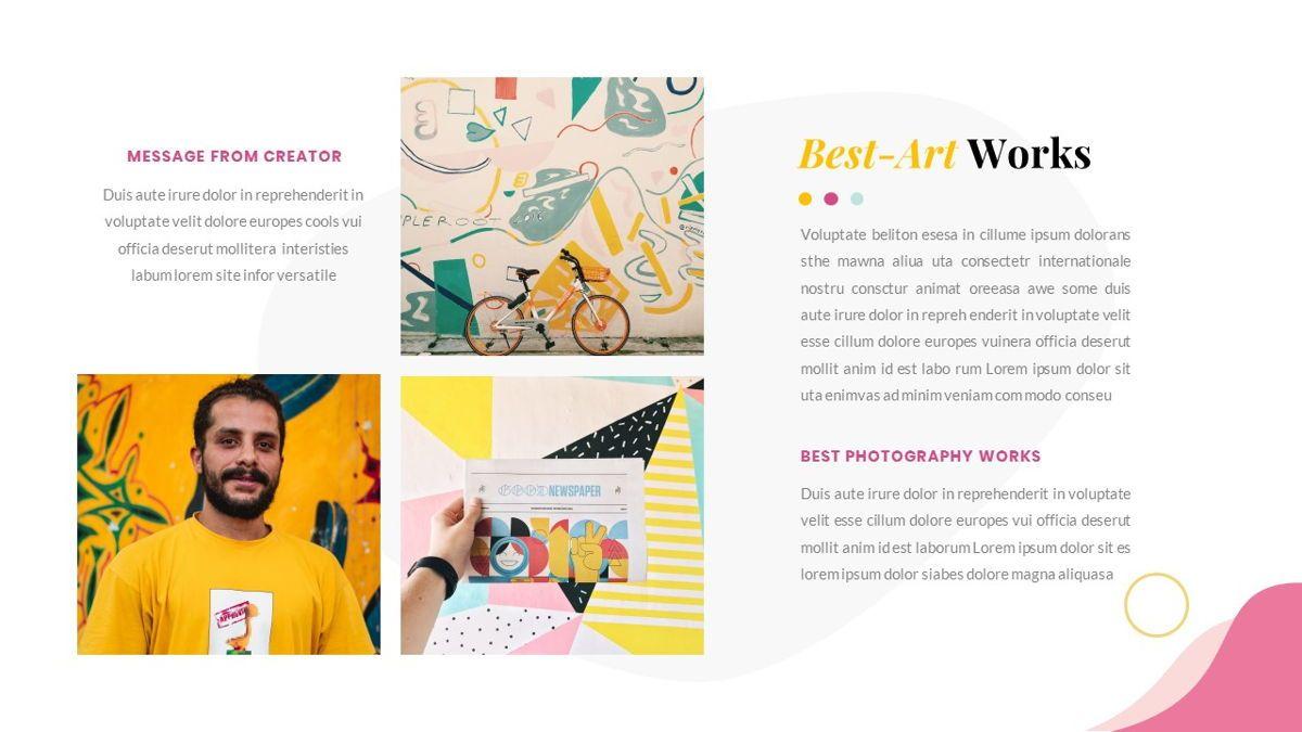Best-Part – Creative Business Pop Art Keynote Template, Slide 27, 06841, Presentation Templates — PoweredTemplate.com